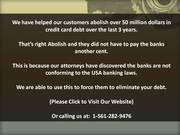 It's All Gone! My Un-Secured Loan!